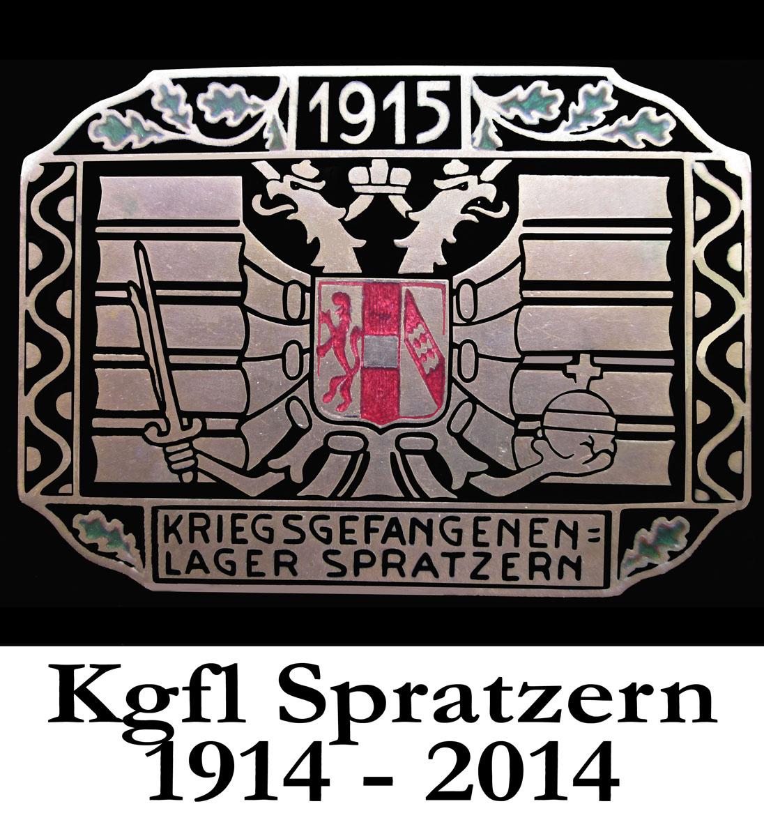 PM1: Abbildung des offiziellen Lagerabzeichens, das ab 1915 zum Einsatz kam