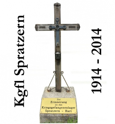 PM2: Kreuz mit Erinnerungstafel ( steht heute an der Mariazeller Bundesstraße Richtung Wilhelmsburg bei der Abbiegung zum Russenfriedhof )