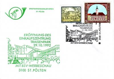 1992 1.-EUR EKZ Traisenpark 31.10