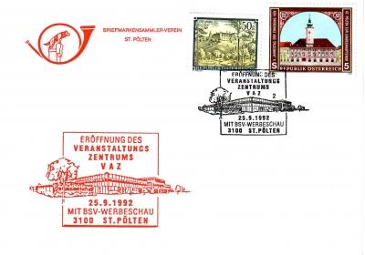 1992 1.-EUR Eroeffnung VAZ