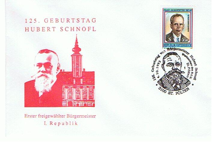 1993 1.- 125.G. Bgm.H.Schnofl