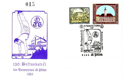 1993 1.-EUR 130 Jahre oeTB Brief