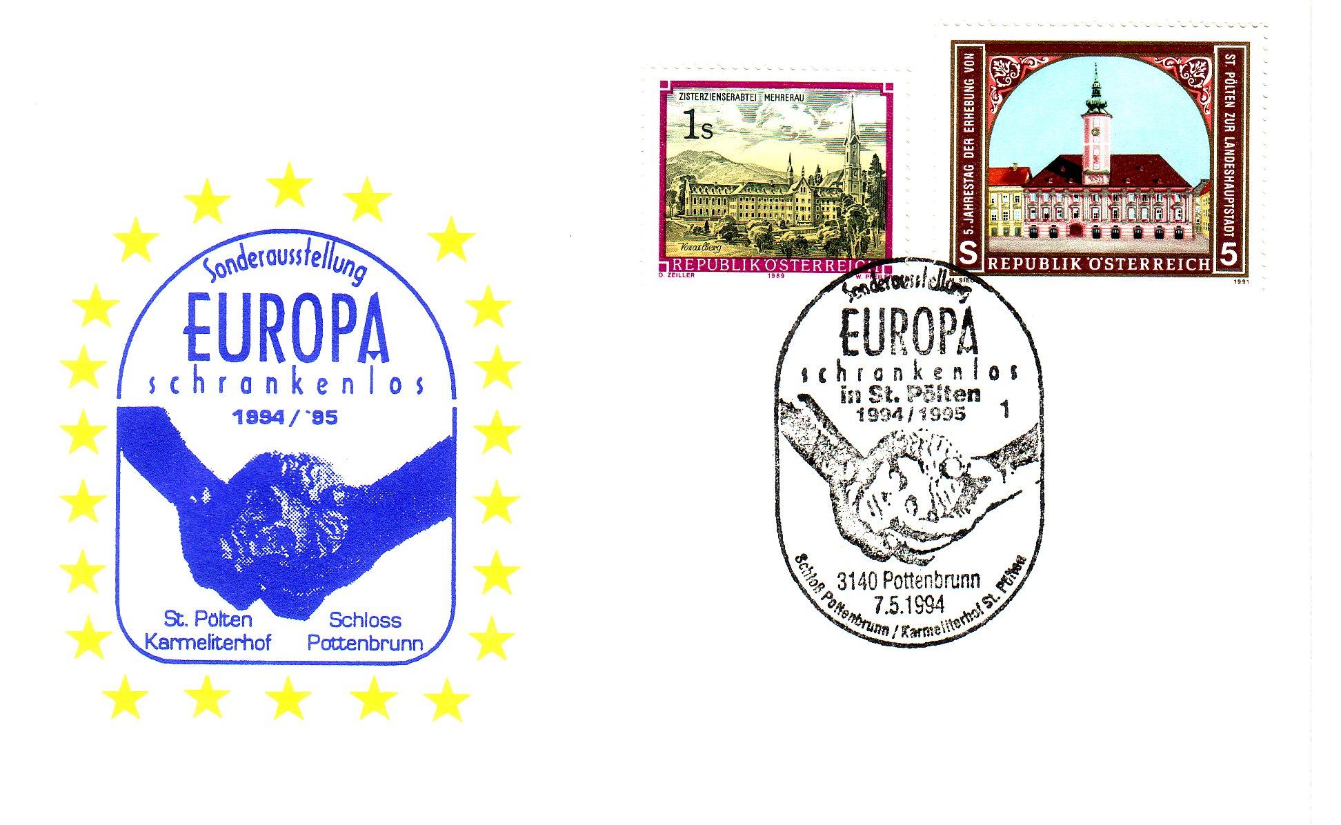 1994 1.-EUR Europa schrankenlos