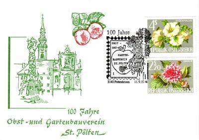 1994 1.-EUR 100 Jahre Gartenbauverein