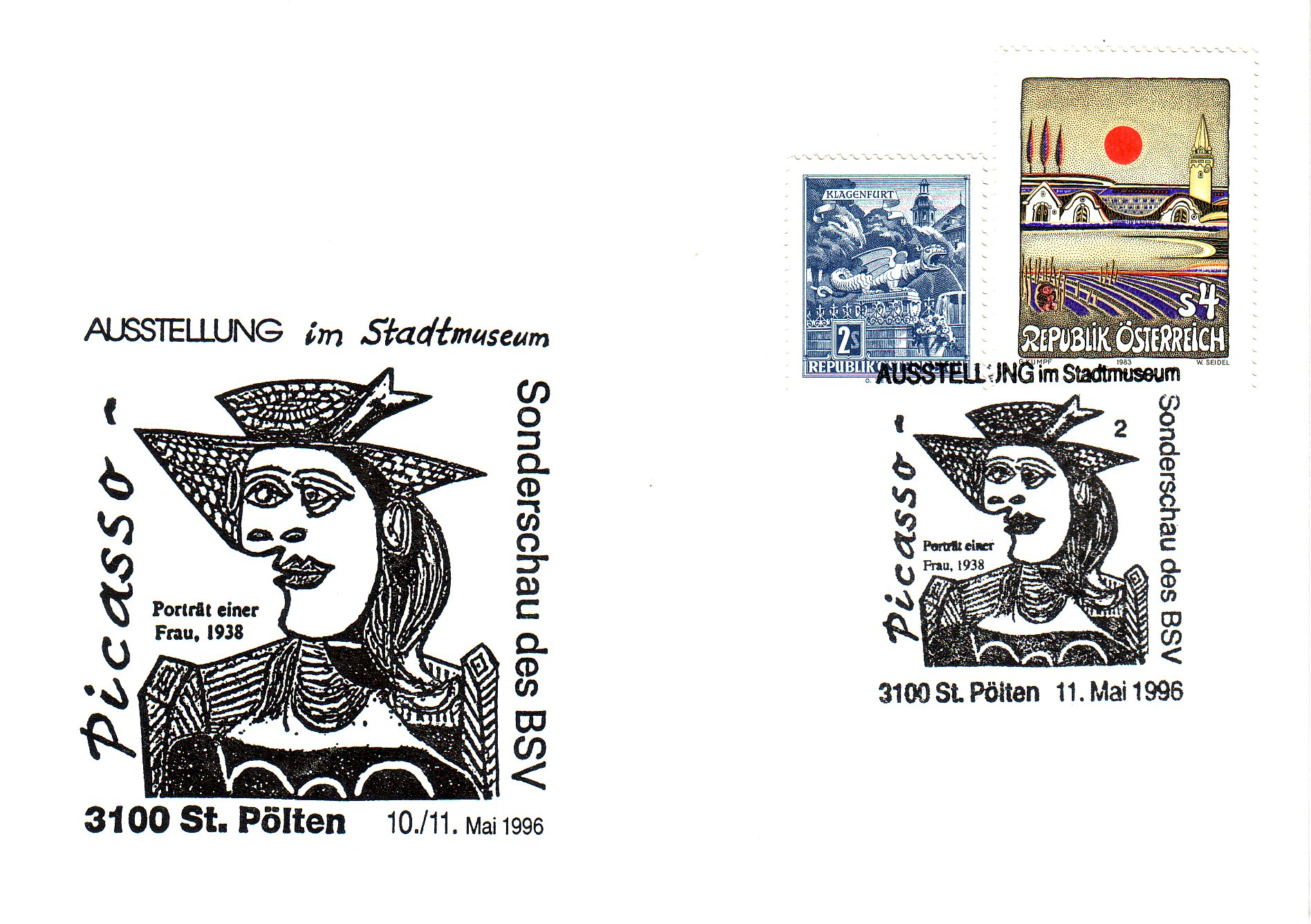 1995 1.-EUR Picasso