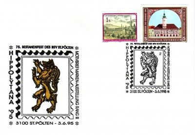 1995 1.-EUR 75 Jahre BSV St.P. 1