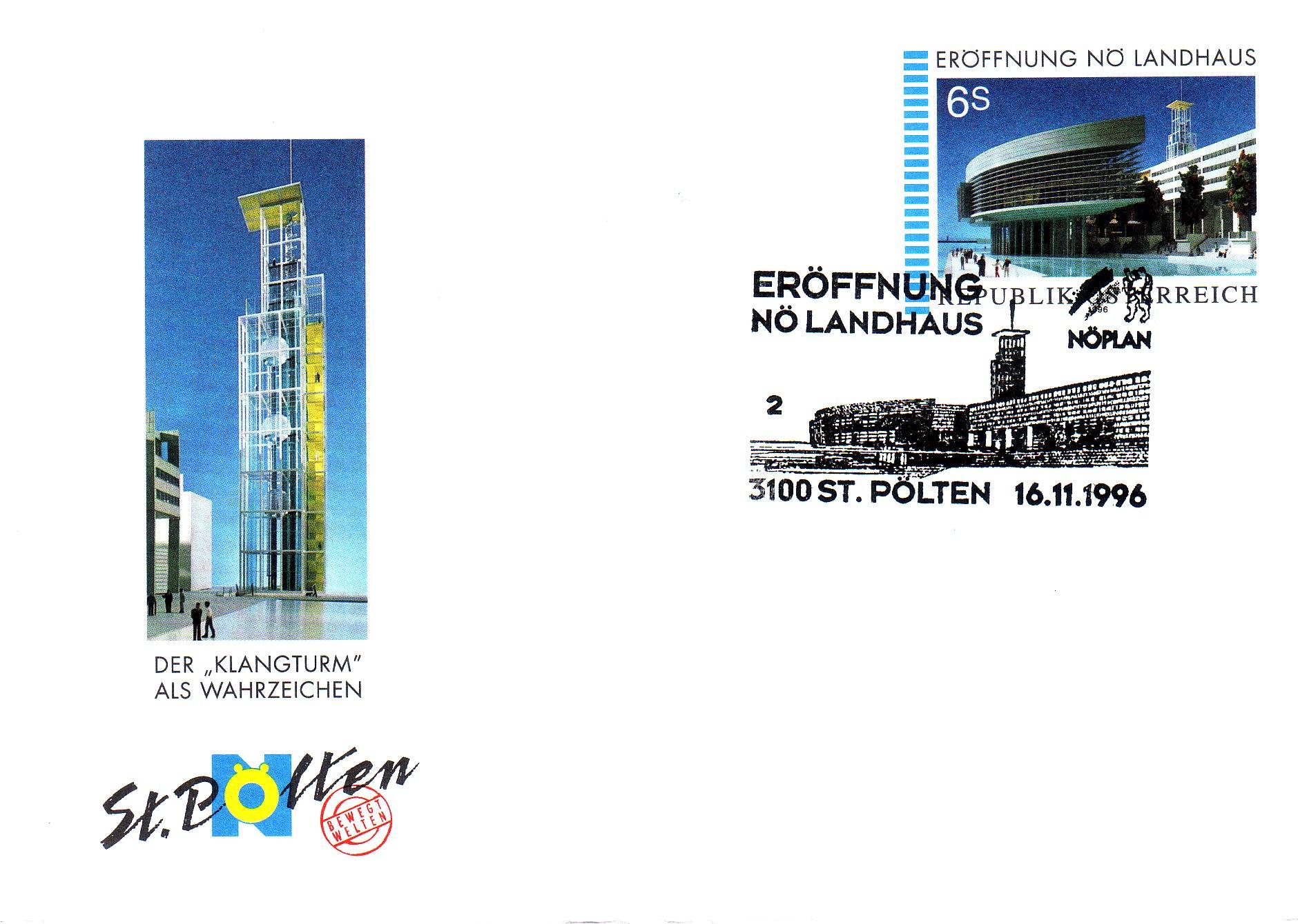 1996 1.-EUR Eroeffnung Landhaus 2
