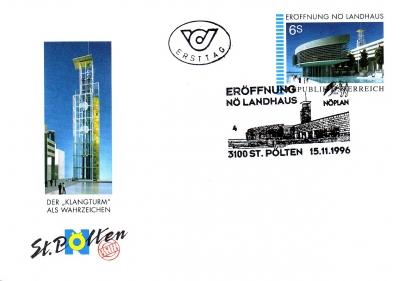 1996 1.-EUR Eroeffnung Landhaus 1
