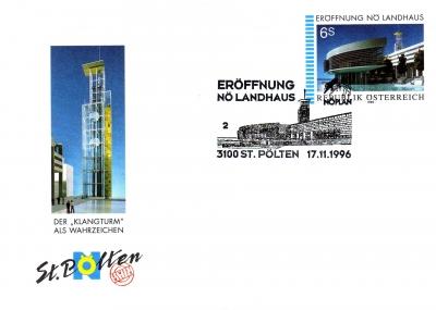 1996 1.-EUR Eroeffnung Landhaus 3