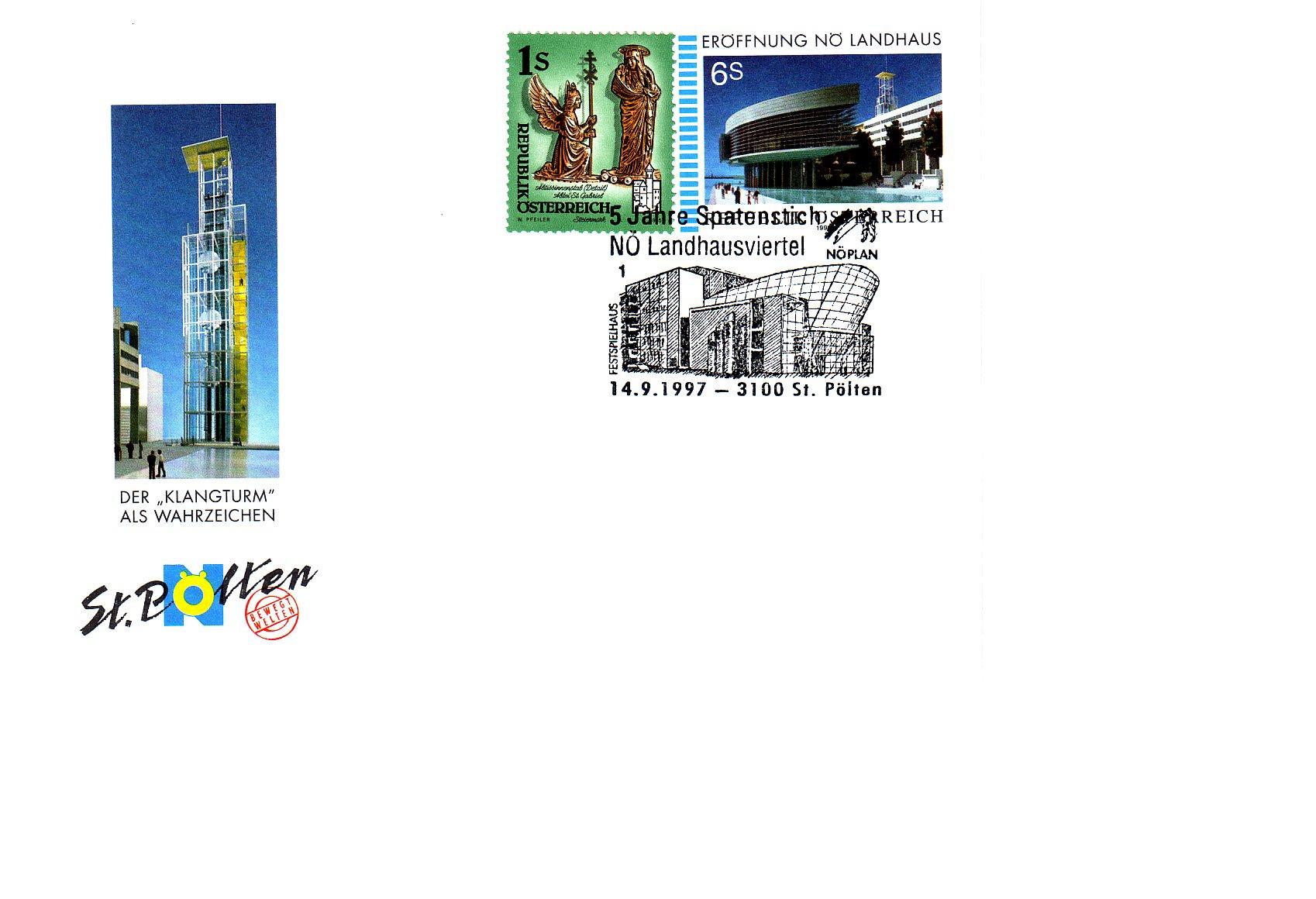 1997 1.-EUR 5 Jahre Spatenstich Landhaus