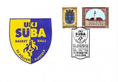 1998 1.-EUR UKJ SueBA Basketball