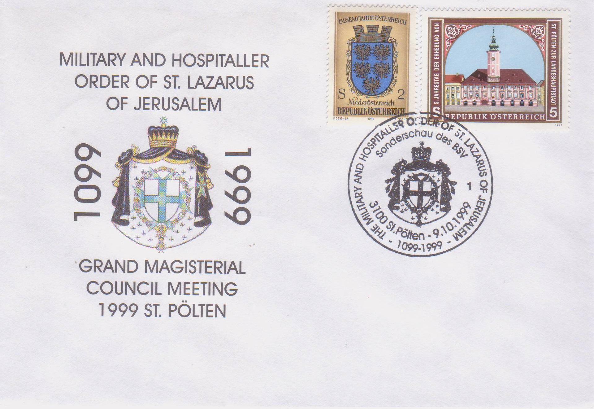 1999 1.-EUR  900 J. Malteserorden