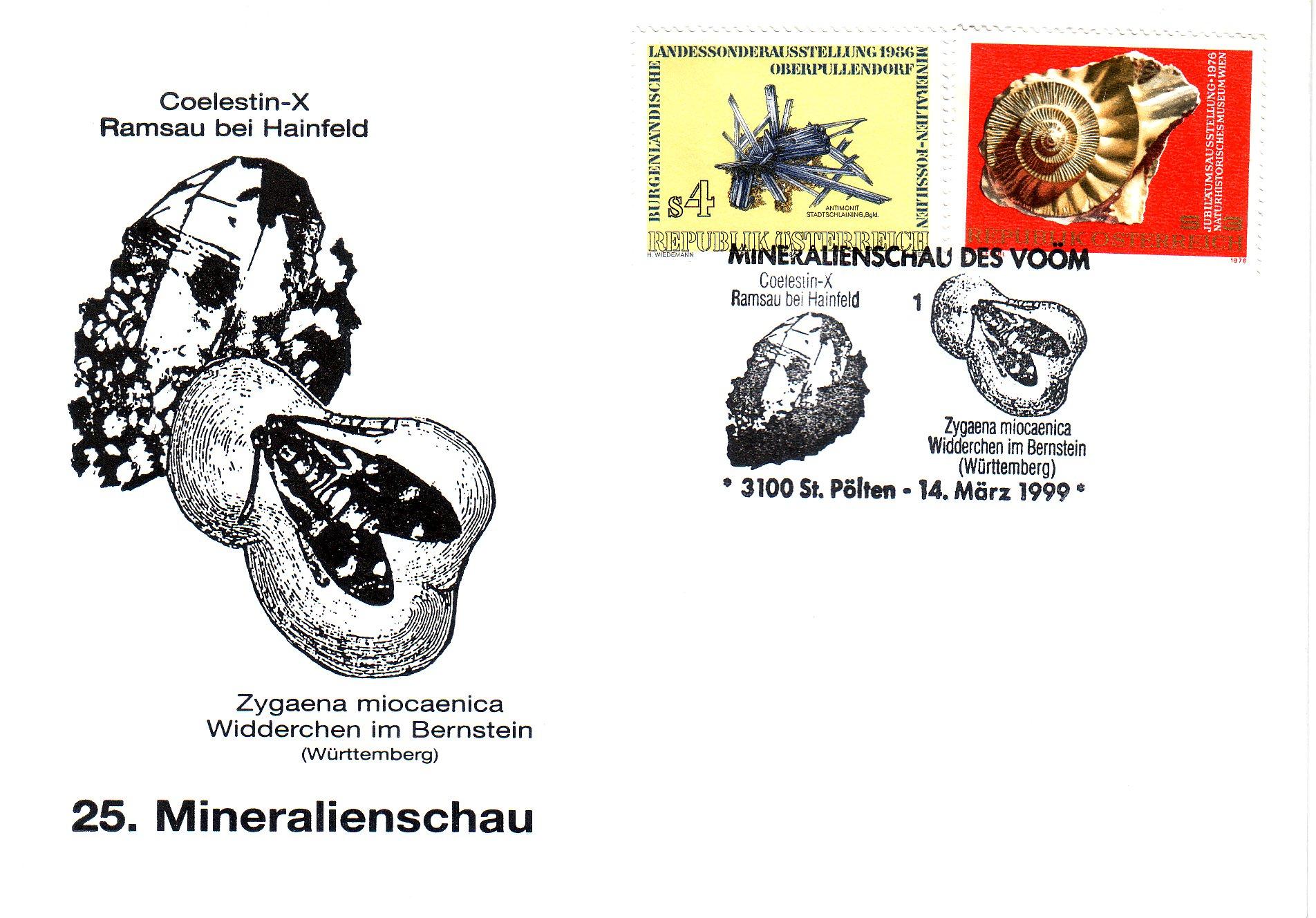 1999 1.-EUR Mineralienschau