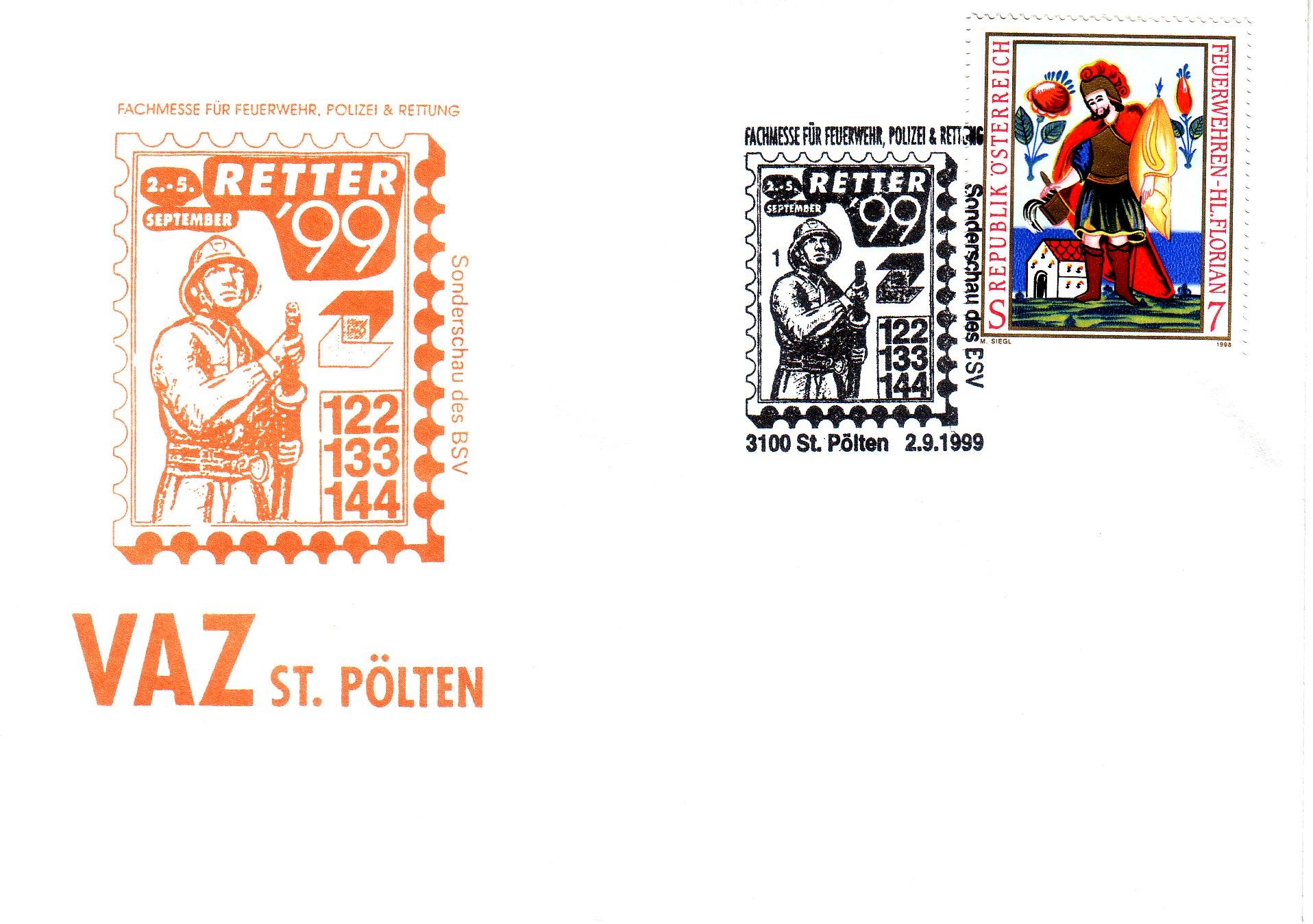 1999 1.-EUR Retter 99