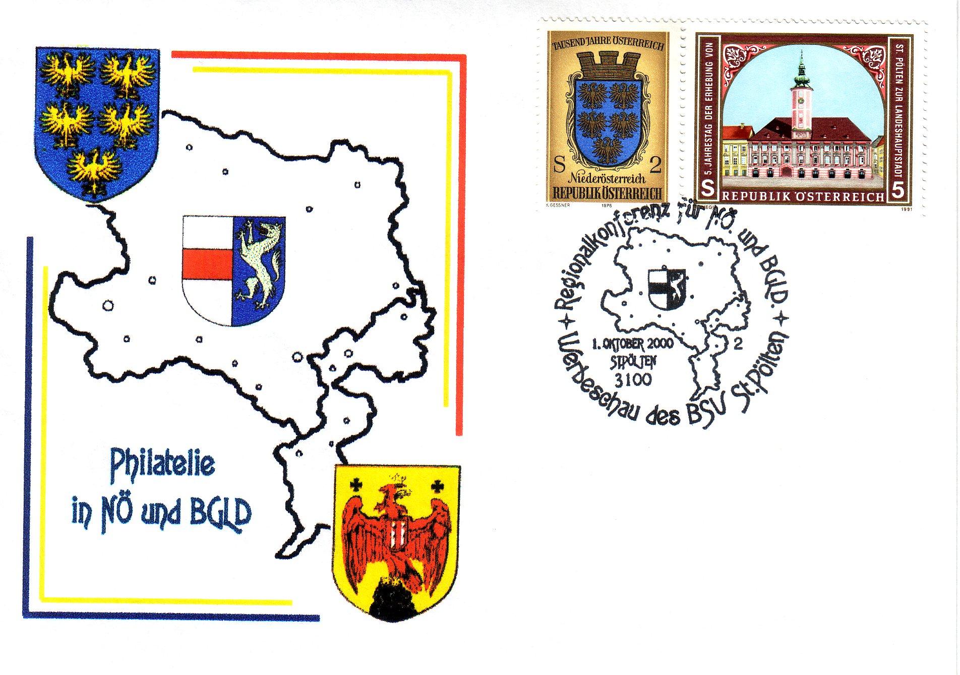 2000 1.-EUR Regionalkonferenz NoeBGL