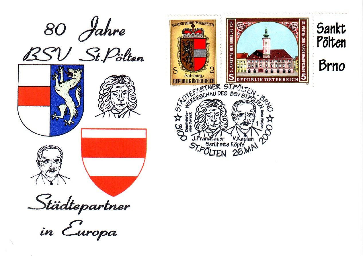 2000 1.-EUR Staedtepartner 1