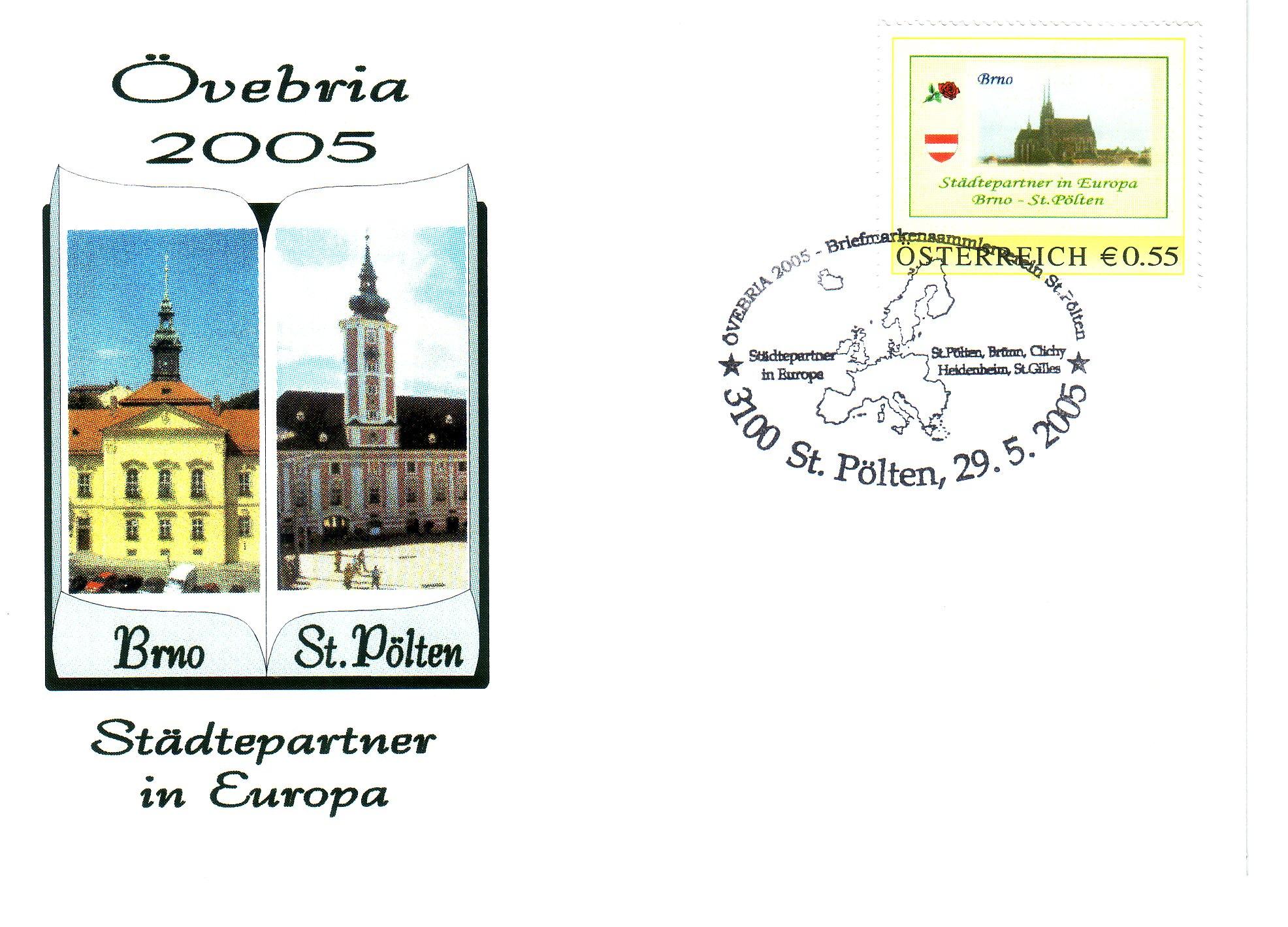 2005 3.-EUR Staedtepartner 2