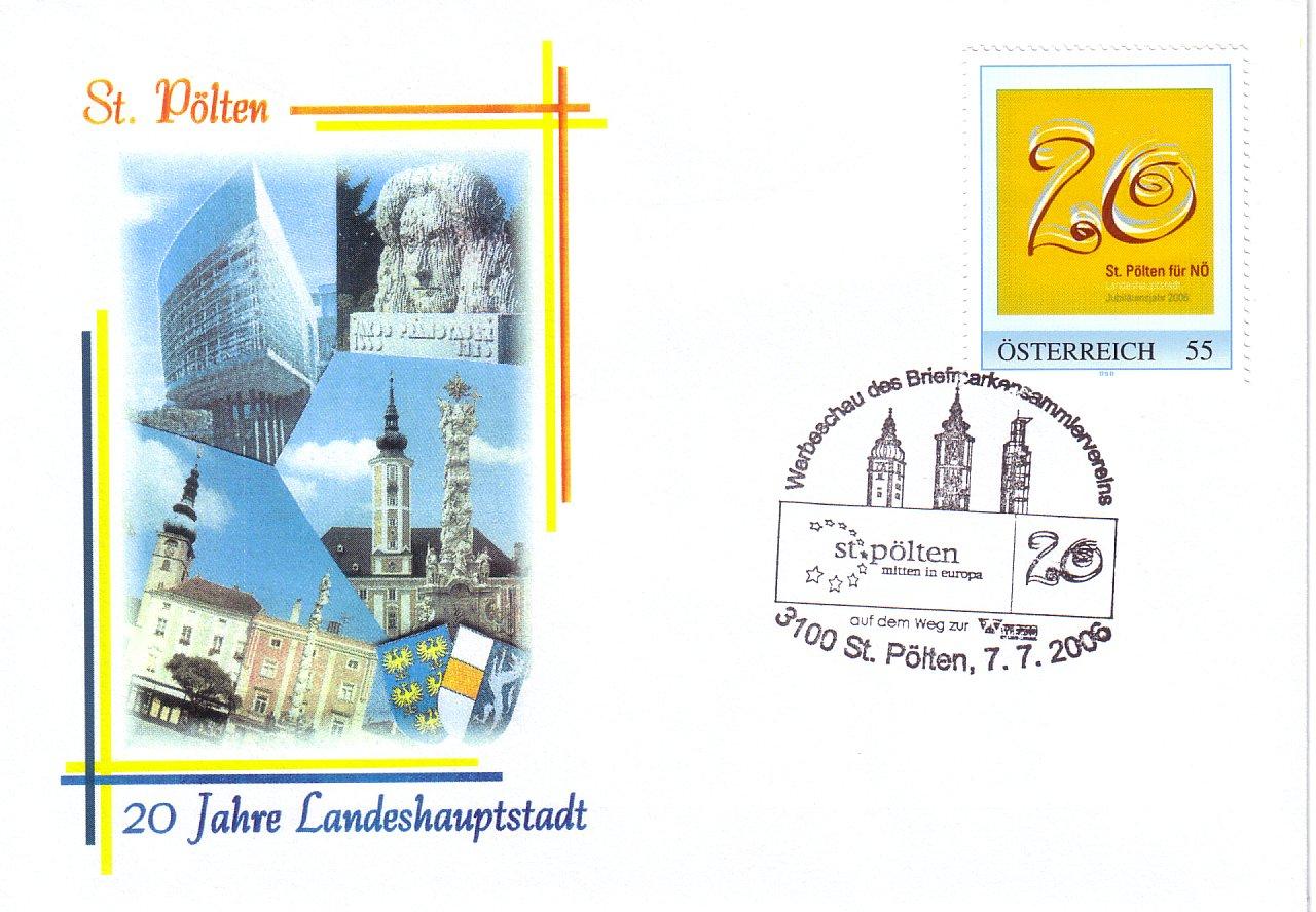 2006 3,50EUR 20 Jahre LH St.P.