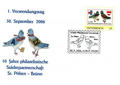 2006 3,50EUR 10 Jahre St.P.-Bruenn