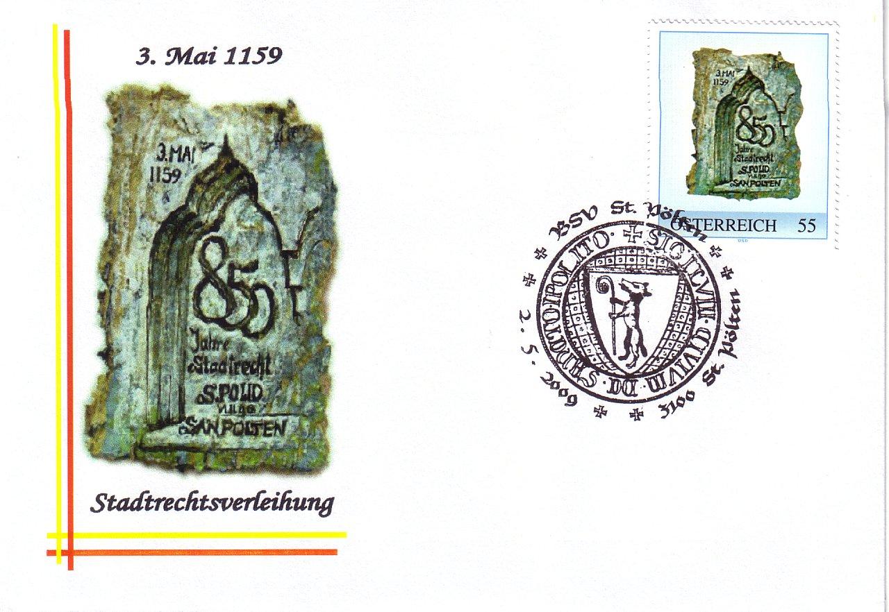 2009 3,50EUR 850 Jahre Stadtrecht 1