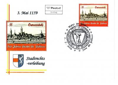 2009 2.-EUR 850 Jahre Stadtrecht FDC