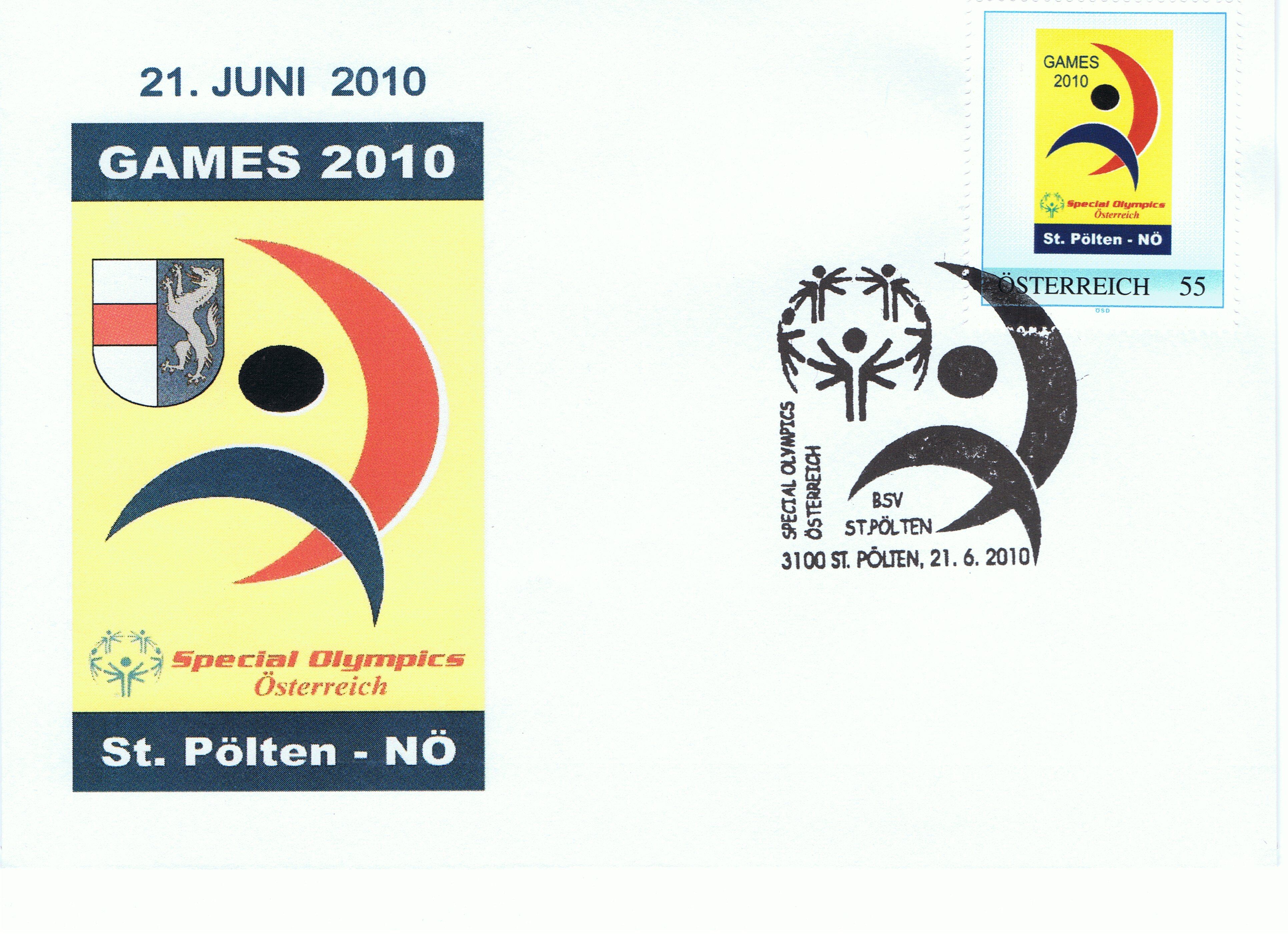 2010 3,50EUR Special Olympics 1