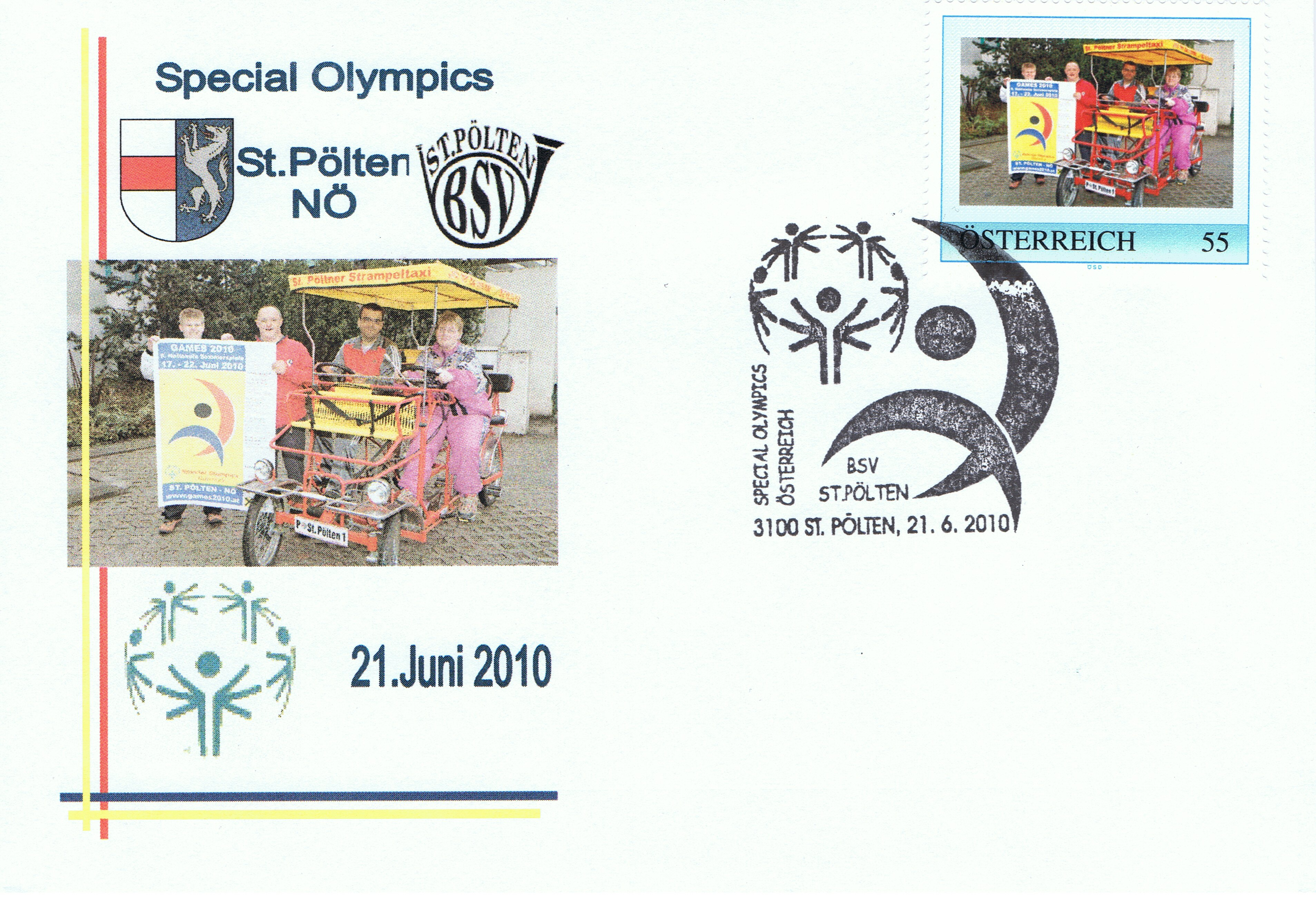2010 3,50EUR Special Olympics 2