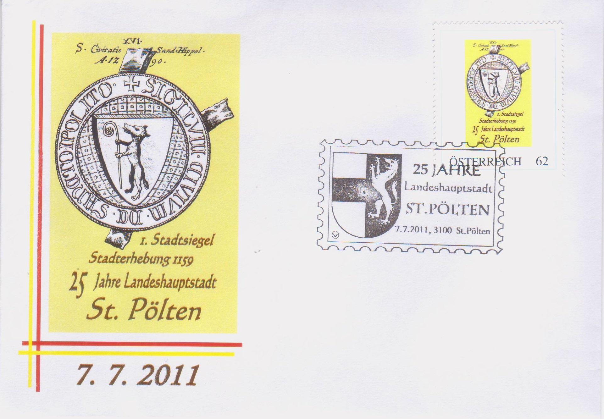 2011 3,50EUR 25 Jahre LH St.P. 2