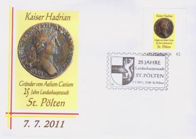2011 3,50EUR 25 Jahre LH St.P. 1