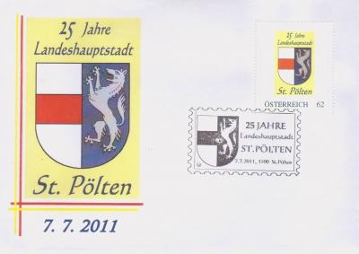2011 3,50EUR 25 Jahre LH St.P. 3