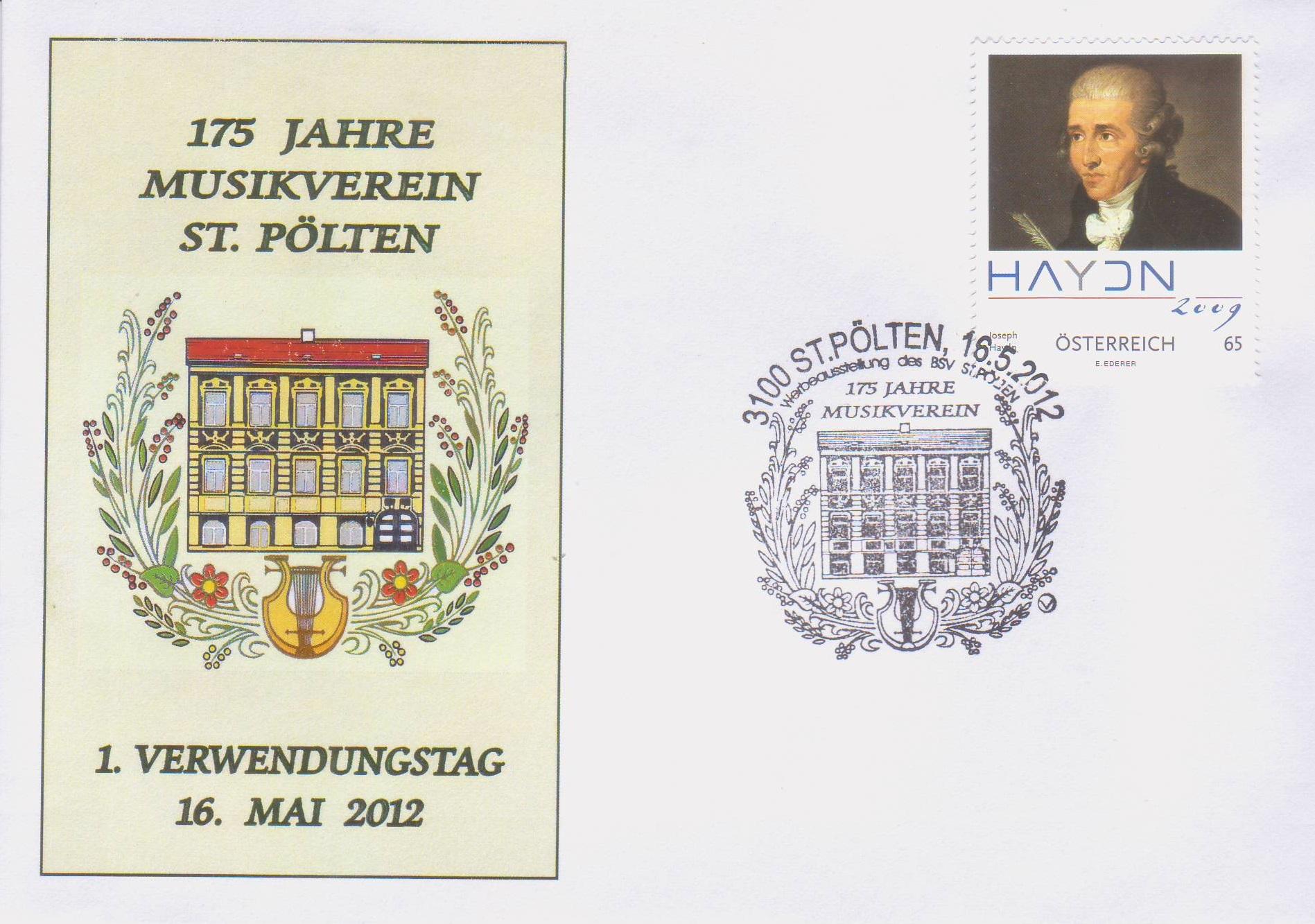 2012 2.-EUR 175 J. Musikverein 3