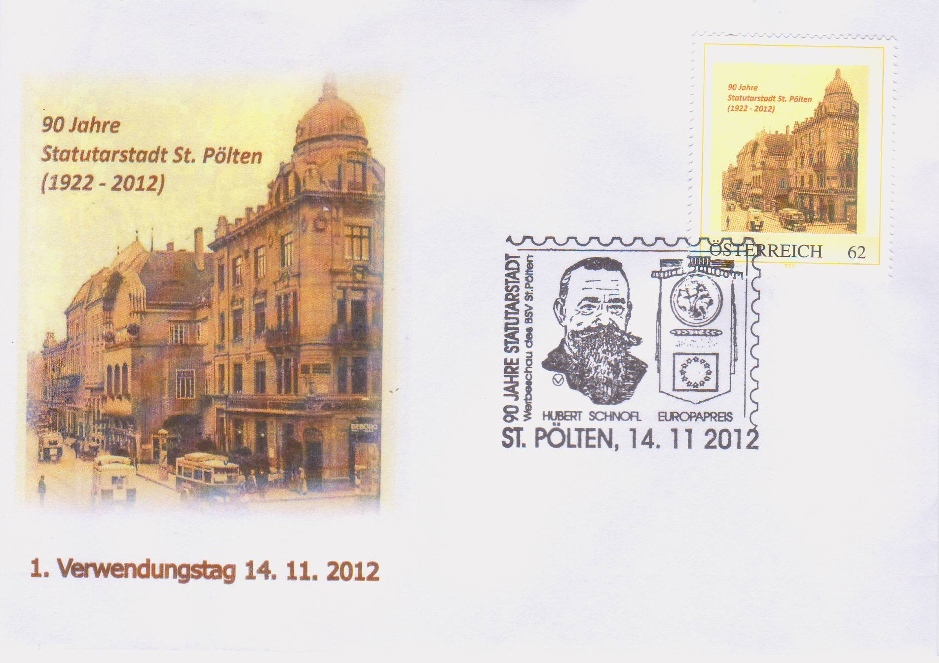 2012 3,50EUR 90 J. Statutarstadt
