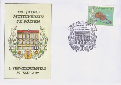2012 2.-EUR 175 J. Musikverein 2