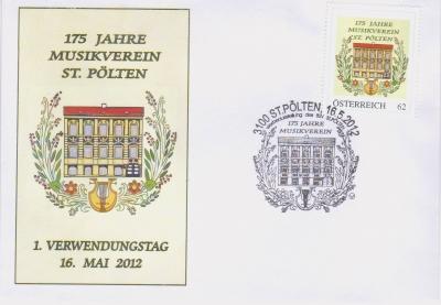 2012 3.50EUR 175 Jahre Musikverein