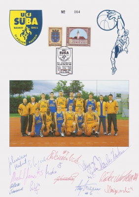 1998 4.-EUR UKJ SUEBA Basketball