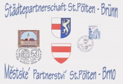 2000 2.-EUR Staedtepartner Bruenn