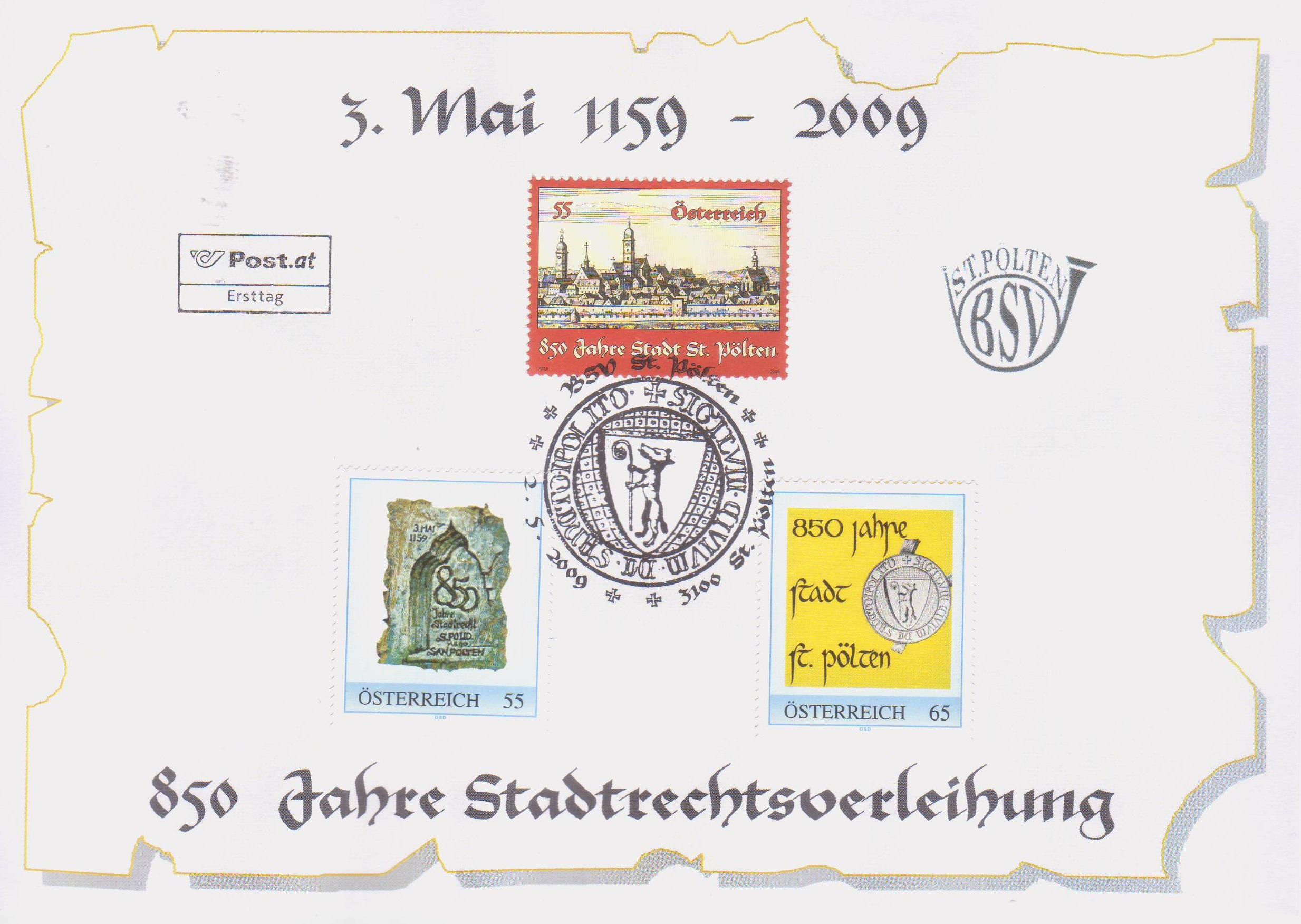 2009 7.-EUR 850 Jahre Stadtrecht