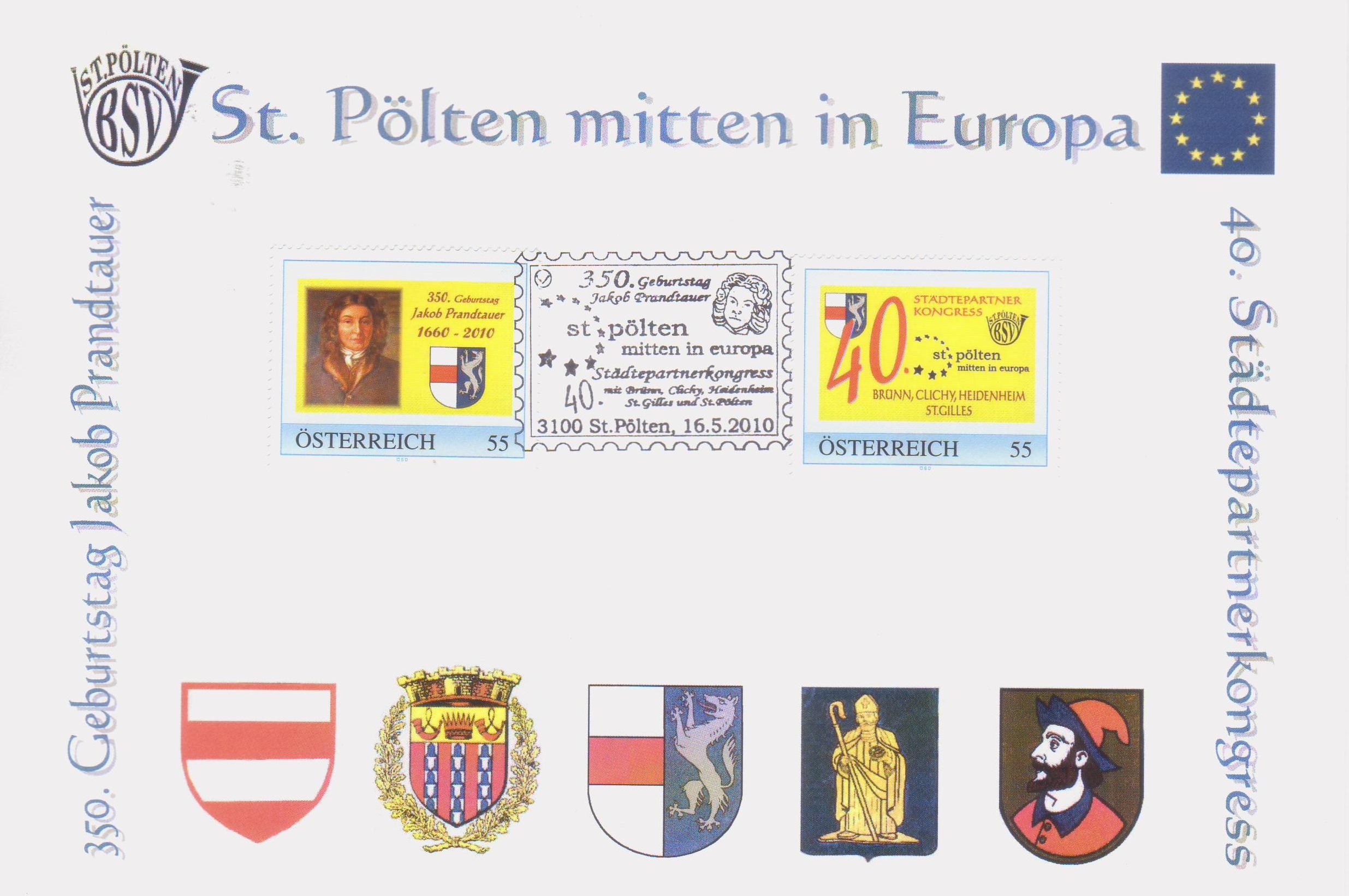 2010 7.-EUR 350.Geb. Prandtauer
