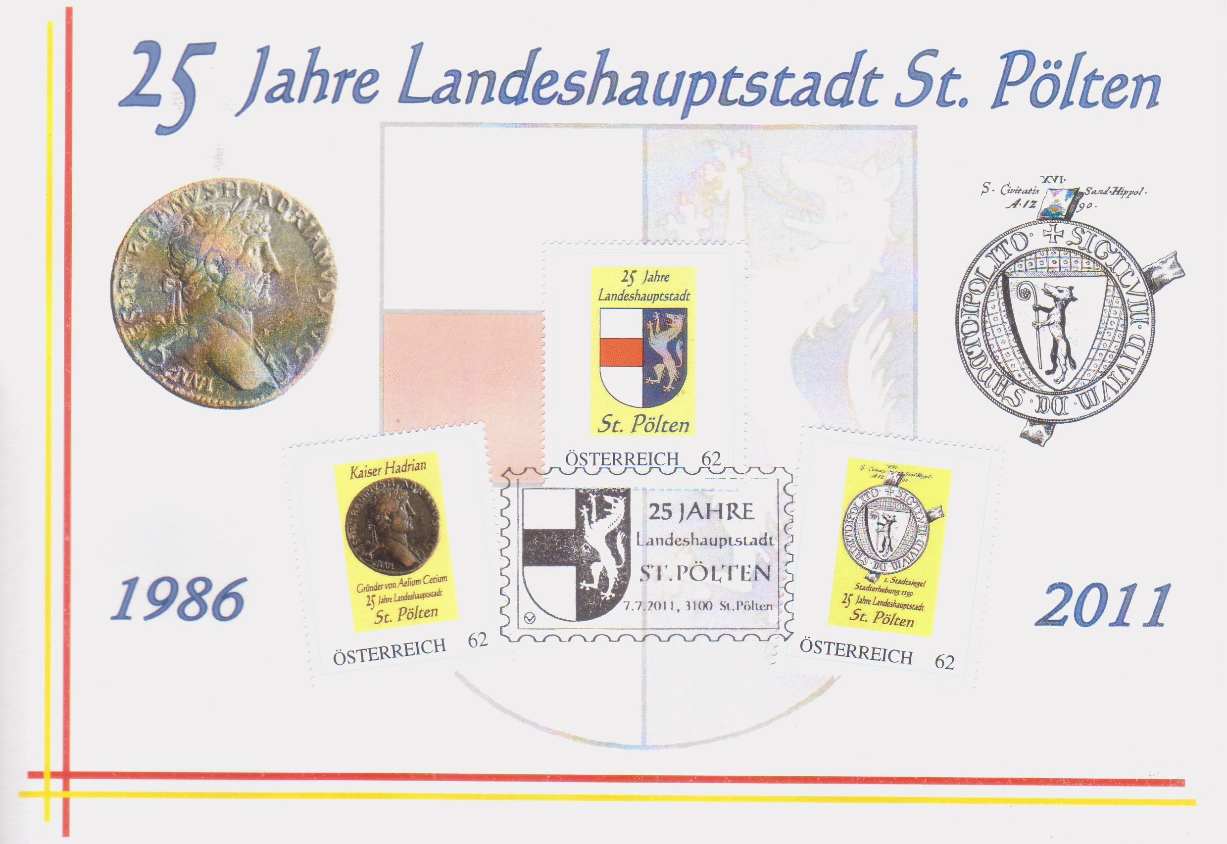 2011 10.-EUR 25 Jahre LH St.Poelten