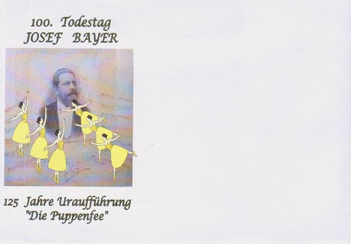 Sonderkuvert Puppenfee blanco 1.- €, mit pers. Marke Puppenfee und SST Puppenfee 3,50.- €